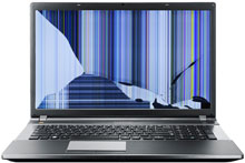 laptop broken screen220